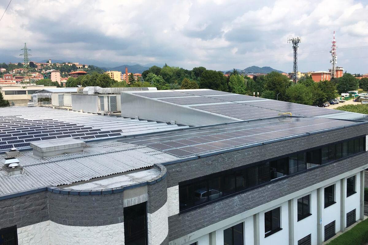 Impianto fotovoltaico Gruppo Marchi & Fildi